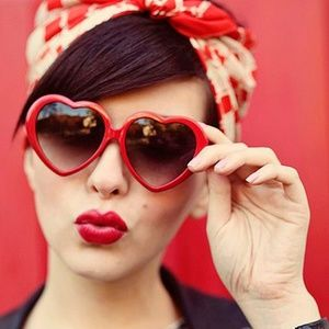 Accessories - Red Heart Sunglasses Sunnies
